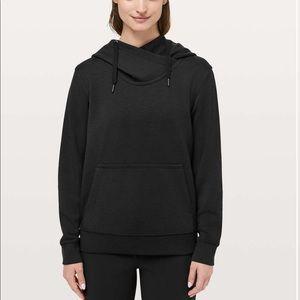 New LULULEMON City Sleek Hoodie Sweatshirt Black 6